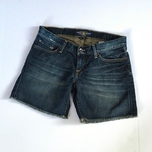 Lucky Brand Dark Wash Denim Shorts Sz 4/27